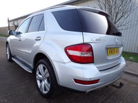 USED 2009 59 MERCEDES-BENZ M CLASS 3.0 ML320 CDI SPORT 5d AUTO 222 BHP 70,000 MILES ONLY 2 OWNERS PART EXCHANGE AVAILABLE / ALL CARDS / FINANCE AVAILABLE