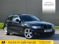 "USED 2010 60 BMW 1 SERIES 2.0 118D M SPORT 5d 141 BHP HALF LEATHER,CRUISE,18"" ALLOYS"