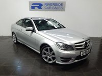 2013 MERCEDES-BENZ C CLASS 1.6 C180 BLUEEFFICIENCY AMG SPORT 2d AUTO 154 BHP £11000.00