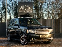 USED 2011 11 LAND ROVER RANGE ROVER 5.0 V8 AUTOBIOGRAPHY 5dr AUTO 1 Year Parts & Labour Warranty