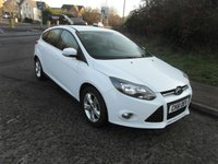 USED 2011 61 FORD FOCUS 1.6 Zetec Petrol 5 door 2 owners. Full service history.