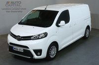 USED 2016 66 TOYOTA PROACE 1.6 COMFORT 115 BHP 6d AIR CON EURO 6 START STOP AIR CONDITIONING EURO 6