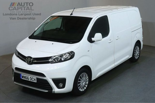 2016 66 TOYOTA PROACE 1.6 COMFORT 115 BHP 6d AIR CON EURO 6 START STOP AIR CONDITIONING EURO 6