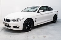 USED 2016 66 BMW 4 SERIES 2.0 420D XDRIVE M SPORT 2d AUTO 188 BHP PROFFESIONAL NAVIGATION!