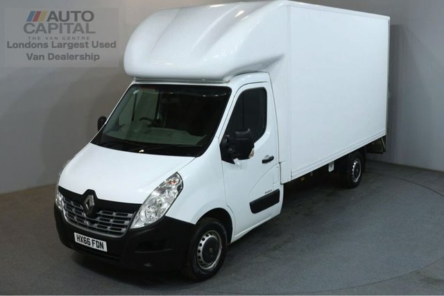 2016 66 RENAULT MASTER 2.3 LL35 BUSINESS DCI 125 BHP LWB WITH TAIL LIFT LUTON VAN REAR BED LENGTH 13 FOOT