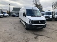 USED 2016 16 VOLKSWAGEN CRAFTER 2.0 CR35 TDI LWB Long Wheel Base Panel Van