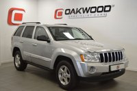 USED 2007 57 JEEP GRAND CHEROKEE 3.0 V6 CRD LIMITED 5d AUTO 215 BHP SERVICE HISTORY + LEATHER + PRIVACY GLASS