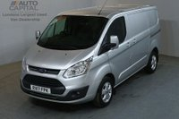 USED 2017 17 FORD TRANSIT CUSTOM 2.0 290 LIMITED 130 BHP L1 H1 SWB EURO 6 AIR CON VAN AIR CONDITIONING EURO 6