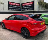 USED 2018 18 FORD FOCUS RS *RED EDITION* 2.3 ECOBOOST 5DR 345 BHP DELIVERY MILEAGE 1 OF ONLY 300 RACE RED FOCUS RS + DELIVERY MILEAGE