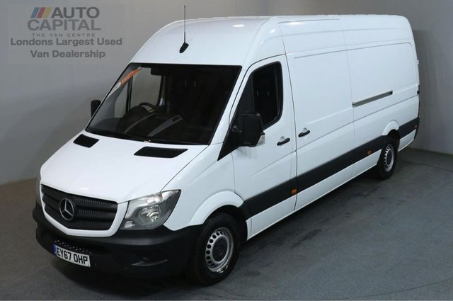 2017 67 MERCEDES-BENZ SPRINTER 2.1 314CDI 140 BHP LWB H/ROOF EURO 6 PANEL VAN FRONT AND REAR PARKING SENSORS