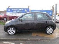2007 NISSAN MICRA 1.4 SPIRITA 5d AUTO 88 BHP £3995.00