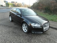USED 2010 10 AUDI A3 1.6TDI Sportback 5 door Diesel £20 a year road tax. 2 owners from new.