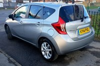 USED 2014 14 NISSAN NOTE 1.2 ACENTA PREMIUM DIG-S 5d AUTO 98 BHP 0% Deposit Plans Available even if you Have Poor/Bad Credit or Low Credit Score, APPLY NOW!