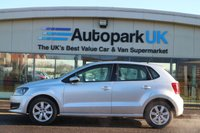 USED 2011 VOLKSWAGEN POLO 1.4 SE  LOW DEPOSIT OR NO DEPOSIT FINANCE AVAILABLE