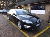 USED 2013 13 FORD MONDEO 2.0 ZETEC BUSINESS EDITION TDCI 5d 138 BHP * 1 KEEPER * FULL SERVICE HISTORY * 7 STAMPS * SAT-NAV * BLUETOOTH * PARKING SENSORS *