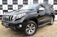 USED 2014 14 TOYOTA LAND CRUISER 3.0 D-4D INVINCIBLE 5d AUTO 188 BHP