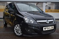USED 2014 64 VAUXHALL ZAFIRA 1.7 DESIGN NAV CDTI ECOFLEX 5d 108 BHP NO DEPOSIT FINANCE AVAILABLE