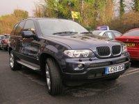 USED 2005 55 BMW X5 3.0 D SPORT 5d AUTO 215 BHP