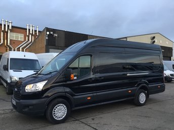 2016 FORD TRANSIT 2.2TDCI T350 TREND L4 JUMBO LWB HIGH ROOF 125BHP. BIG SPEC. £11990.00