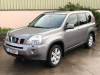USED 2008 NISSAN X-TRAIL 2.0 AVENTURA EXPLORER DCI 5d 171 BHP FULL LEATHER, SAT NAV, REVERSE CAMERA, HEATED SEATS, IMMACULATE CONDITION