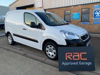 USED 2016 65 PEUGEOT PARTNER 1.6 HDI PROFESSIONAL 625 1d 92 BHP PROFESSIONAL - 6 SPEED - AIR CON - LOW MILES - ONE OWNER