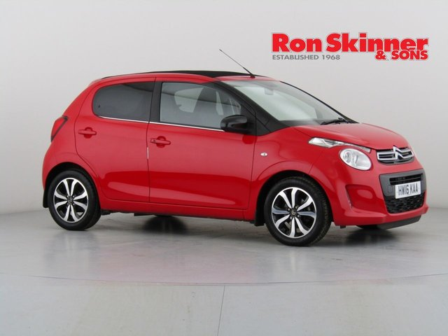 View our 2016 16 CITROEN C1 1.2 PURETECH AIRSCAPE FLAIR 5d 82 BHP