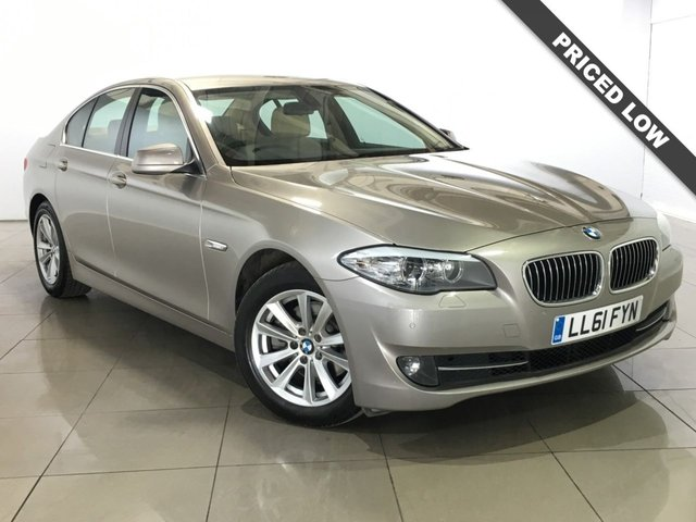 View our 2011 61 BMW 5 SERIES 2.0 520D SE 4d AUTO 181 BHP