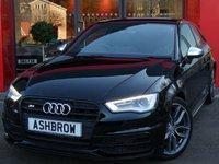 2015 AUDI S3 2.0 TFSI S TRONIC QUATTRO 3d NAV S/S £20982.00