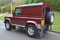 USED 2005 55 LAND ROVER DEFENDER TD5 COUNTY HARD TOP