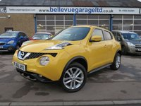2015 NISSAN JUKE 1.6 N-CONNECTA XTRONIC 5d AUTO 117 BHP £SOLD