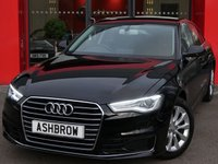 USED 2015 65 AUDI A6 SALOON 2.0 TDI ULTRA SE 4d 190 S/S SAT NAV, LED DAYTIME RUNNING LIGHTS, XENON HEADLIGHTS, DAB RADIO, BLUETOOTH PHONE & MUSIC STREAMING, FRONT & REAR PARKING SENSORS WITH DISPLAY, 17 INCH 10 SPOKE ALLOYS, FULL BLACK LEATHER INTERIOR, TWIN EXHAUST, LEATHER MULTIFUNCTION STEERING WHEEL, LIGHT & RAIN SENSORS WITH AUTO DIMMING REAR VIEW MIRROR, CRUISE CONTROL, AUTO HILL HOLD, 4 ZONE CLIMATE AIR CON, CD HIFI WITH 2x SD CARD READERS, AUDI MUSIC INTERFACE (AMI), ILLUMINATING VANITY MIRRORS, AUDI DRIVE SELECT, 1 OWNER FROM NEW, FSH