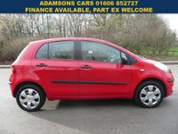 USED 2006 56 TOYOTA YARIS 1.0 ION L 5d 69 BHP New MOT & Service, 2 Owners, Low mileage