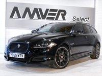 USED 2015 65 JAGUAR XF 2.2 D R-SPORT BLACK SPORTBRAKE 5d AUTO 200 BHP