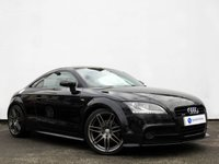 USED 2012 12 AUDI TT 2.0 TDI QUATTRO S LINE BLACK EDITION 2d 168 BHP SATELLITE NAVIGATION with GREAT SERVICE HISTORY......
