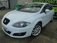 USED 2012 SEAT LEON 1.6 CR TDI SE COPA 5d 103 BHP Excellent Condition, No Deposit Finance Available, Sat Nav Built In