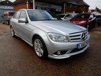 USED 2010 60 MERCEDES-BENZ C CLASS 3.0 C350 CDI BLUEEFFICIENCY SPORT 4d AUTO 231 BHP SERVICE HISTORY,CRUISE CONTROL,AIR CON,FRONT AND REAR SENSORS