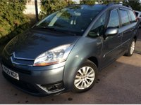USED 2009 09 CITROEN C4 GRAND PICASSO 1.6 VTR PLUS HDI EGS 5d AUTO 107 BHP 7 SEATER SEATS AUTO AUTOMATIC