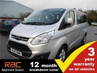 USED 2017 17 FORD TOURNEO CUSTOM 2.0 310 TITANIUM TDCI 5d 129 BHP Lots of spec, top of the range. Finance available.