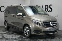 USED 2015 65 MERCEDES-BENZ V CLASS 2.1 V250 BLUETEC SPORT 5d AUTO 188 BHP A LUXURIOUSLY APPOINTED INTERMEDIATE SIZED EXECUTIVE SEVEN SEATER PRESENTED IN IRIDIUM GREY WITH MUCH IMPROVED PERFORMANCE FROM THE MORE POWERFUL 250 VERSION. PASSENGERS EXIT AND ENTRY THROUGH POWER DOORS AND THE REAR CABIN CAN BE SET FORWARD FACING OR IN THE DESIRABLE CONFERENCE SEATING WITH A USEFUL EXTENDING REAR FOLDAWAY TABLE. THIS VEHICLE IS BRISTLING WITH FEATURES INC DRIVER ASSIST PACKAGE 360* CAMERAS+LANE KEEP ASSIST WHICH VIBRATES WHEN YOU DRIFT FOR SAFETY ON THOSE LONG JOURNEYS
