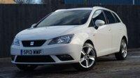 2013 SEAT IBIZA 1.4 TOCA 5d 85 BHP