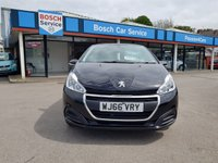 USED 2017 66 PEUGEOT 208 1.2 ACTIVE 3d 82 BHP
