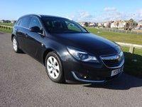 2015 VAUXHALL INSIGNIA 2.0 SRI NAV CDTI  AUTO 160 BHP ESTATE BLACK 1 OWNER FULL HISTORY £9995.00