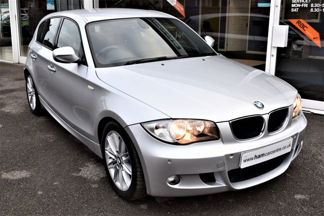2011 11 BMW 1 SERIES 2.0 118D M SPORT 5d 141 BHP ONLY £30 ROAD TAX