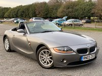 USED 2003 03 BMW Z4 2.5 Z4 ROADSTER 2d 190 BHP 2 X KEYS, ELECTRIC ROOF, CD-PLAYER, ALLOY WHEELS, AIR-CONDITIONING, REMOTE LOCKING, ELECTRIC WINDOWS, LEATHER TRIM, ELECTRIC MIRRORS METALLIC PAINT