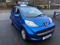2012 PEUGEOT 107 1.0 URBAN 5d 68 BHP £3495.00