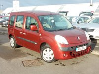 USED 2011 11 RENAULT KANGOO ATLAS DISABLED ACCESS CONVERSION 1.5 EXPRESSION DCI 5d 75 BHP