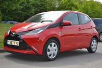 USED 2017 67 TOYOTA AYGO 1.0 VVT-i X-Play ONE OWNER LOW MILEAGE