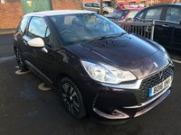 USED 2016 16 DS DS 3 1.2 PURETECH CHIC 3d 80 BHP ONLY 9415 MILES FROM NEW,EXCELLENT FUEL ECONOMY, LOW CO2 EMISSIONS(107G/KM) LOW ROAD TAX £20 ROAD TAX. EXCELLENT SPEC INCLUDING AIR CONDITION AND ALLOY WHEELS, ABS, CENTRAL DOOR LOCKING, ELECTRIC WINDOWS. ONLY 9415 MILES FROM NEW!