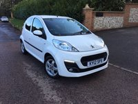 USED 2012 12 PEUGEOT 107 1.0 ALLURE 5d 68 BHP PLEASE CALL TO VIEW
