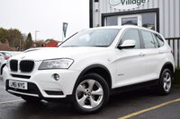 USED 2011 61 BMW X3 2.0 XDRIVE20D SE 5d 181 BHP Serviced With New Mot On Sale.